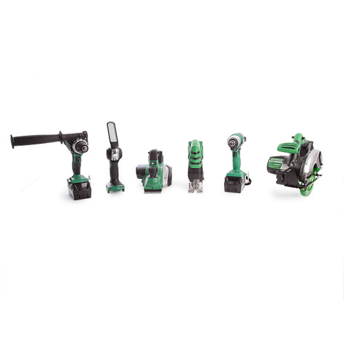Hitachi 6 Piece 18V Cordless Kit With Charger and Large Bag (2 x 5.0Ah Batteries) - 8