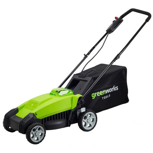 Buy Greenworks 2500067-A 40V Lawn Mower with 2Ah Battery and Charger at Toolstop