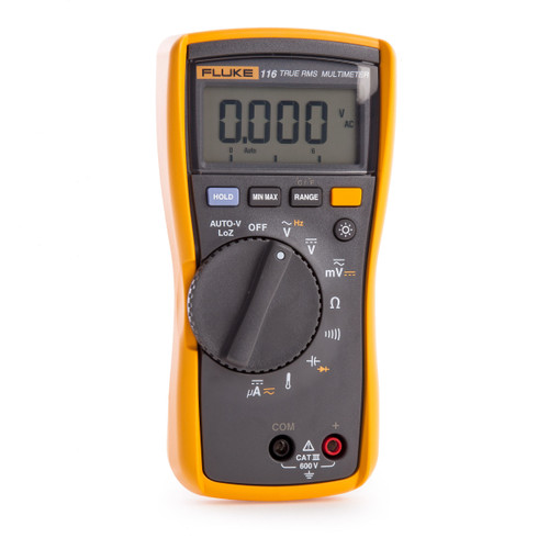 Fluke 116 HVAC Multimeter with Temperature and Microamps (2583601) - 3