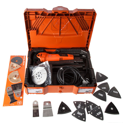 Fein FMM350Q Multimaster Top Kit Systainer Edition 41 Accessories 240V - 6
