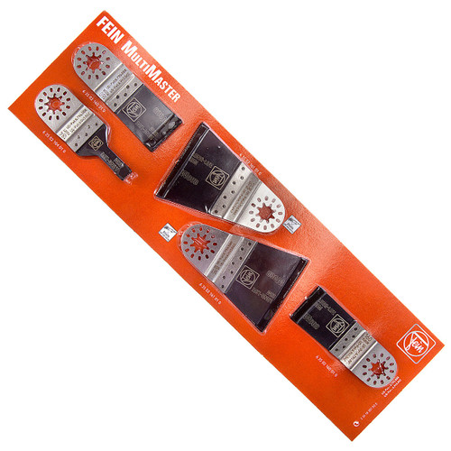 Fein 33918307000 MultiMaster E-Cut Blades Long Life BIM / Wood (Pack of 5) - 1