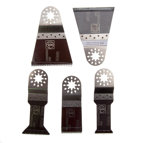 Fein E-cut Cutter Multi Tool Blade Set (5 Piece) - 1