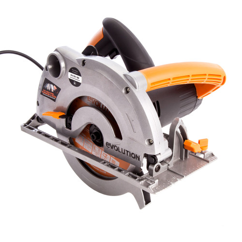Evolution Rage 1-B TCT Multipurpose Circular Saw 185mm 110V - 9