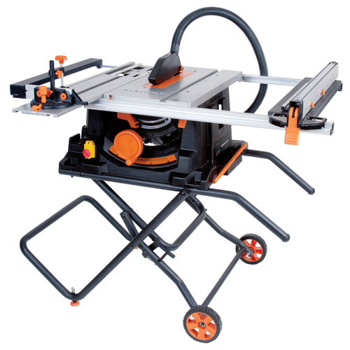 Evolution RAGE5-S Multipurpose Table Saw 255mm (10in) with Blade 110V - 7