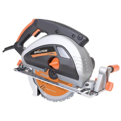 Evolution Rage 230mm TCT Multipurpose Circular Saw 110V - 5