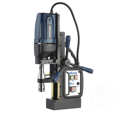 Evolution MAG28 Industrial Magnetic Drill 110V - 9