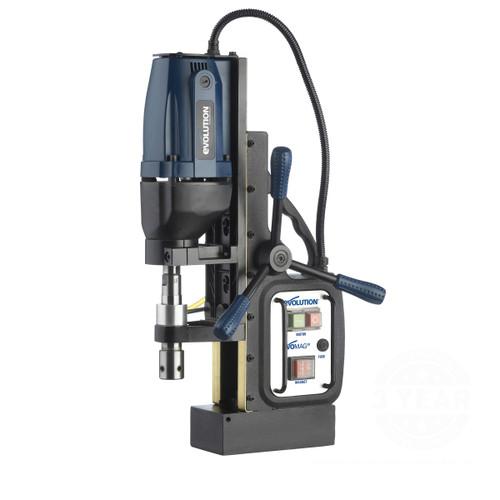 Evolution MAG28 Industrial Magnetic Drill 110V - 9