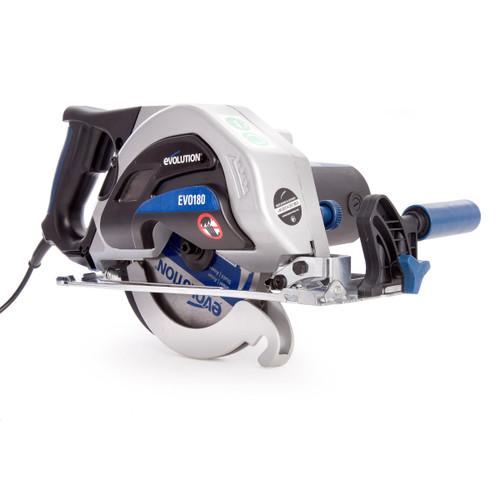 Evolution EVOSAW180HD Metal Cutting Circular Saw 180mm 240V - 10