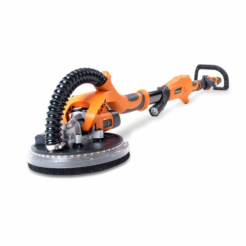 Evolution R225DWS Telescopic Dry Wall Sander 225mm with LED Torch and 6 Sanding Sheets 240V - 8