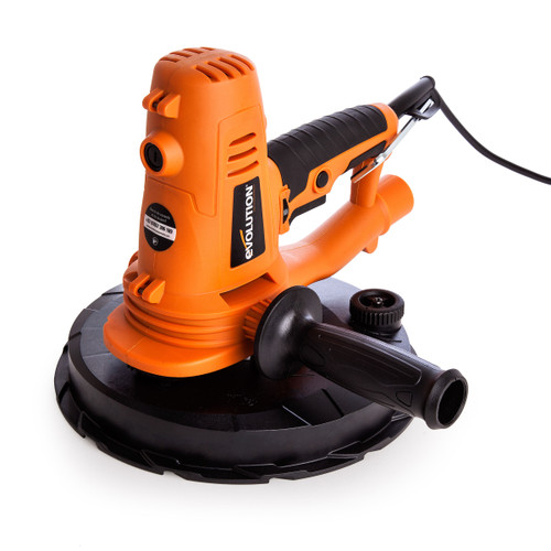 Evolution EB225DWSHH Hand Held Dry Wall Sander 225mm with 24 Sanding Sheets - 4