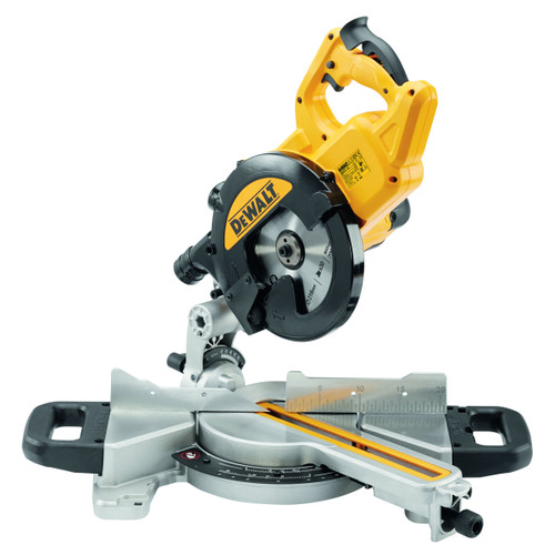 Dewalt DWS774 Slide Mitre Saw with XPS 216mm 110V - 5