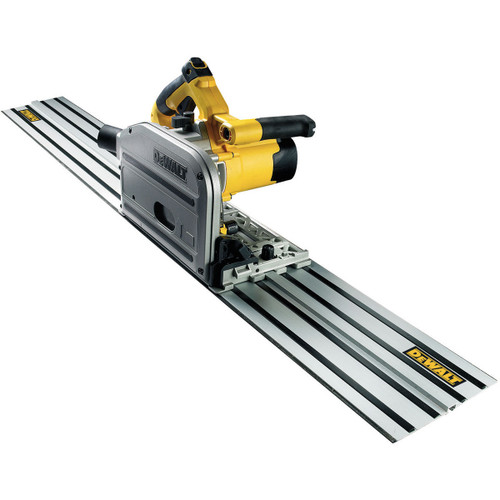 Dewalt DWS520KR Plunge Saw with 1.5m Guide Rail 110V - 4