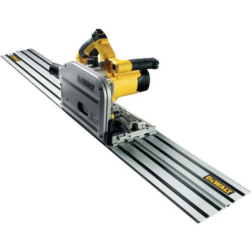 Dewalt DWS520KR Plunge Saw with 1.5m Guide Rail 110V - 4