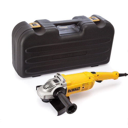 Dewalt DWE492K 2200W Large Angle Grinder 230mm with Kitbox 110V - 4