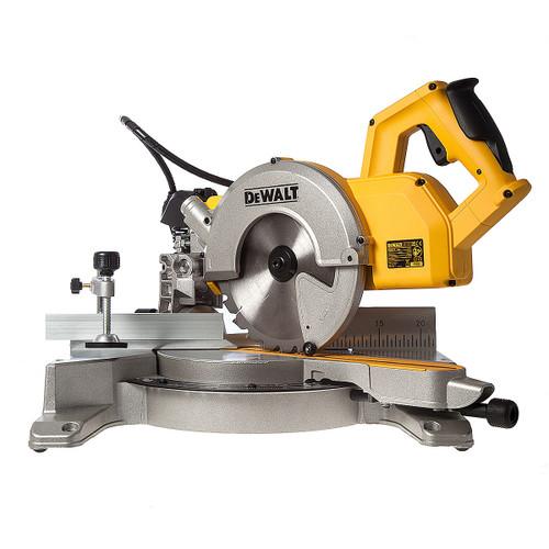 Dewalt DW777 216mm Cross Cut Mitre Saw 110V - 4