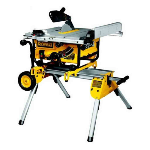Dewalt DW745RS Heavy Duty Lightweight Table Saw with Leg Stand 110V - 4