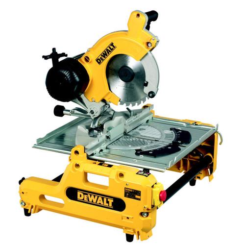 Dewalt DW743N 250mm Combination Flip Over Saw 240V - 3