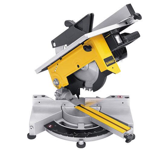 Dewalt DW711 110V 260mm Table Top Mitre Saw - 4