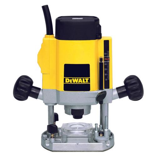 Dewalt DW615 900W 1/4in Variable Speed Plunge Router 110V - 1