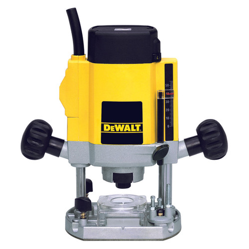 Dewalt DW615 900W 1/4in Variable Speed Plunge Router 110V - 1