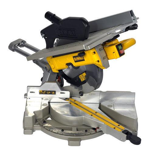 Buy Dewalt D27112 12/305mm Table Top Slide Compound Mitre Saw 110V at Toolstop