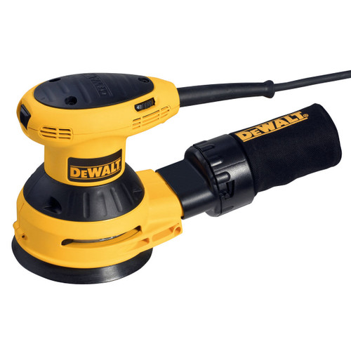Dewalt D26453 125mm Random Orbit Palm Grip Sander 240V - 5