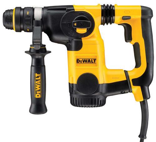 Buy Dewalt D25324K 26mm L-Shape SDS+ Combination Hammer 240V at Toolstop