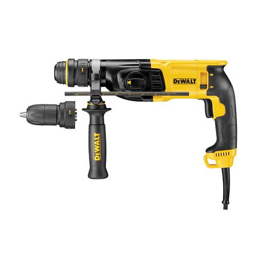 Buy Dewalt D25134K 26mm SDS+ 3 Mode Hammer with Quick Change Chuck 2kg 110V at Toolstop