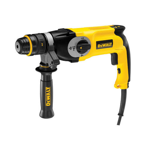 Buy Dewalt D25124K Heavy-Duty SDS+ Combination Hammer Drill 26mm 110V at Toolstop