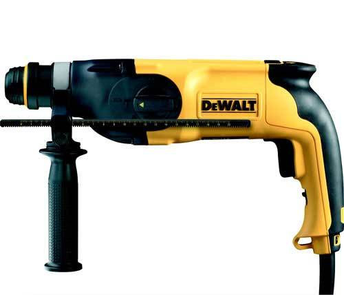 Buy Dewalt D25114K 26mm Heavy Duty SDS+ Combination Hammer with Quick Change Chuck 240V at Toolstop