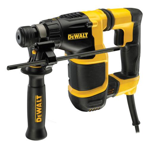 Dewalt D25052KT 20mm SDS+ Sub Compact Hammer Drill in TSTAK Kitbox 240V - 4