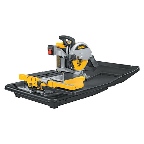 Buy Dewalt D24000 250mm Slide Table Wet Tile Saw 240V at Toolstop