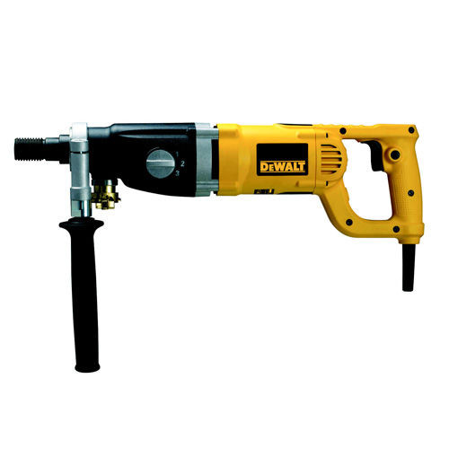 Buy Dewalt D21583K 1910W Heavy Duty 3 Speed Wet & Dry Diamond Drill 110V at Toolstop