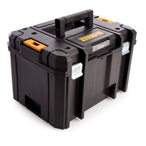 Dewalt DWST1-71195 TStak VI Tool Storage Box 23 Litres with Tote Tray - 6