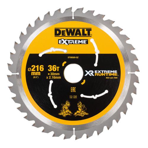 Dewalt DT99569 XR Extreme Runtime Mitre Saw Blade 216mm x 30mm x 36T - 2