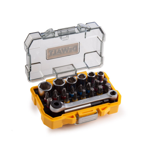 Dewalt DT71516-QZ Socket and Screwdriving Set 1/4in Drive (24 Piece) - 3