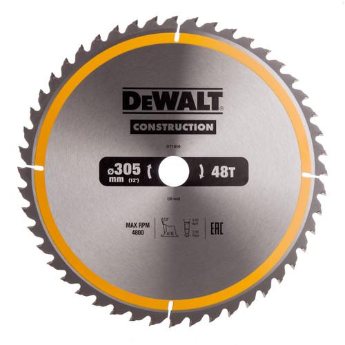 Dewalt DT1959 Construction Circular Saw Blade 305mm x 30mm x 48T - 3