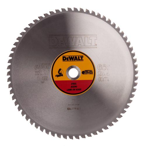 Dewalt DT1926 Stationary Saw Blade For Metal 355mm x 25.4mm x 66T - 2