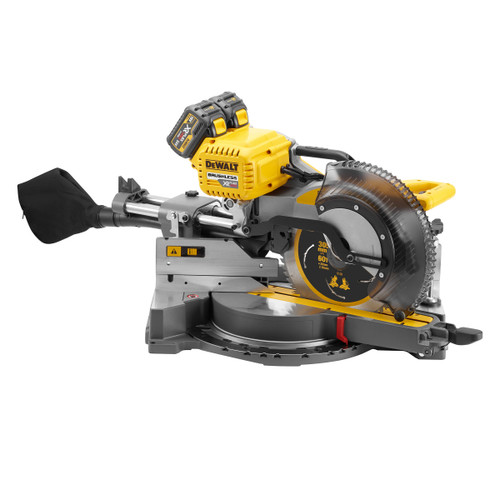 Dewalt DHS780T2 54V Flexvolt Mitre Saw 305mm (2 x 6.0Ah Batteries) Accepts 2 x 54V Batteries - 4