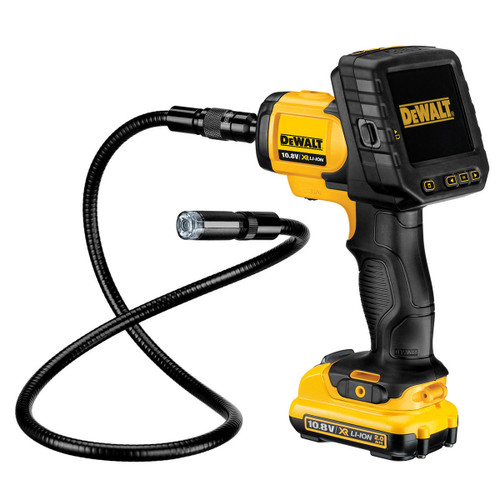Dewalt DCT410D1 XR Li-Ion 10.8V Inspection Camera with 90cm x 17mm Cable - 2