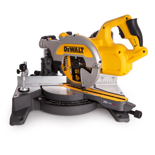 Dewalt DCS777T2 54V XR Flexvolt Mitre Saw 216mm (2 x 6.0Ah Batteries) - 7