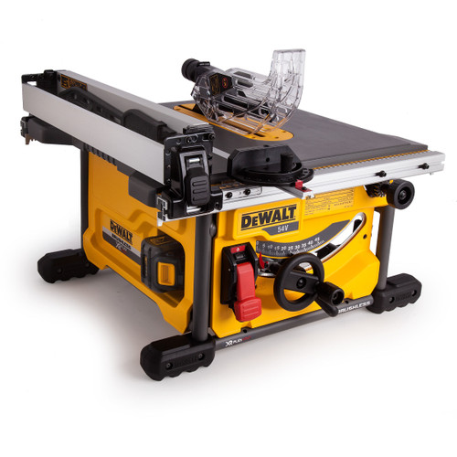 Dewalt DCS7485T2 54V XR Flexvolt Table Saw 210mm (2 x 6.0Ah Batteries) - 8