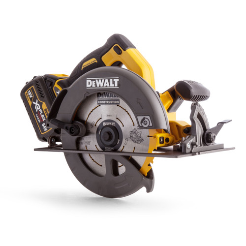 Dewalt DCS575T2 54V XR Flexvolt Circular Saw 190mm (2 x 6.0Ah Batteries) - 3