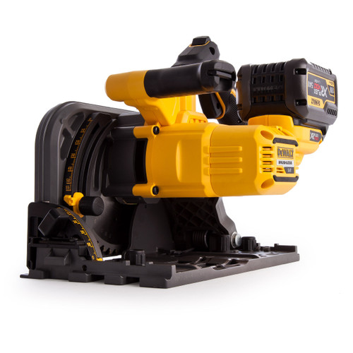 Dewalt DCS520T2 54V XR Flexvolt Plunge Saw 165mm (2 x 6.0Ah Batteries) - 4