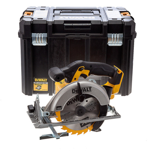 Dewalt DCS391NT 18V XR Circular Saw 165mm (Body Only) with TSTAK Box - 5