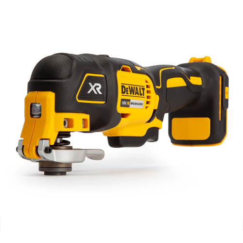 Dewalt DCS355N 18V Brushless Oscillating Multi-Tool (Body Only) with 29 Accessories - 7