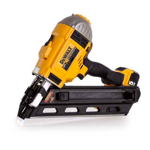 Dewalt DCN692P2 18V XR Cordless li-ion Brushless Framing Nailer in Toughsystem Box (2 x 5Ah Batteries) - 5