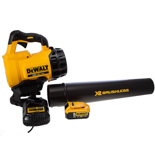 Dewalt DCM562P1 18V Brushless Outdoor Blower (1 x 5.0Ah Battery) - 4
