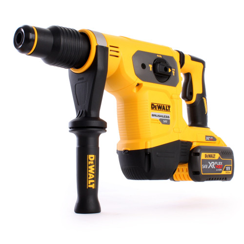 Dewalt DCH481X2 54V XR Flexvolt Brushless 3-Mode Dedicated SDS Max Hammer (2 x 9.0Ah Batteries) - 4