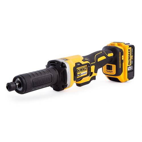 Dewalt DCG426P2 18V XR Brushless Die Grinder 125mm (2 x 5.0Ah Batteries) - 5
